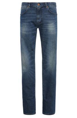 'Orange24 Barcelona' | Regular Fit, 10 oz Stretch Cotton Blend Jeans, Blue