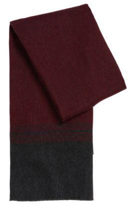 'T-Hebos' | Italian Virgin Wool Oversized Scarf, Red