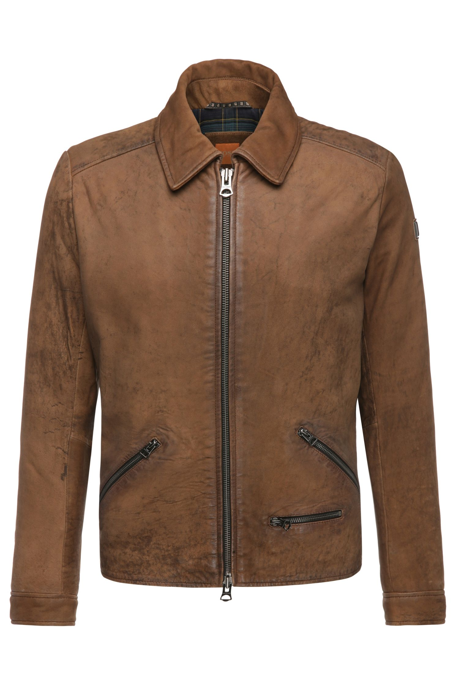 'Jerard' | Sheepskin Leather Jacket