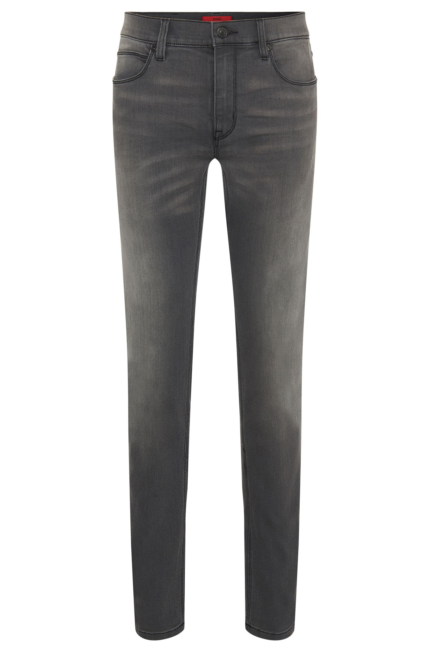 'HUGO 708' | Slim Fit, 11.25 oz Stretch Cotton Blend Jeans