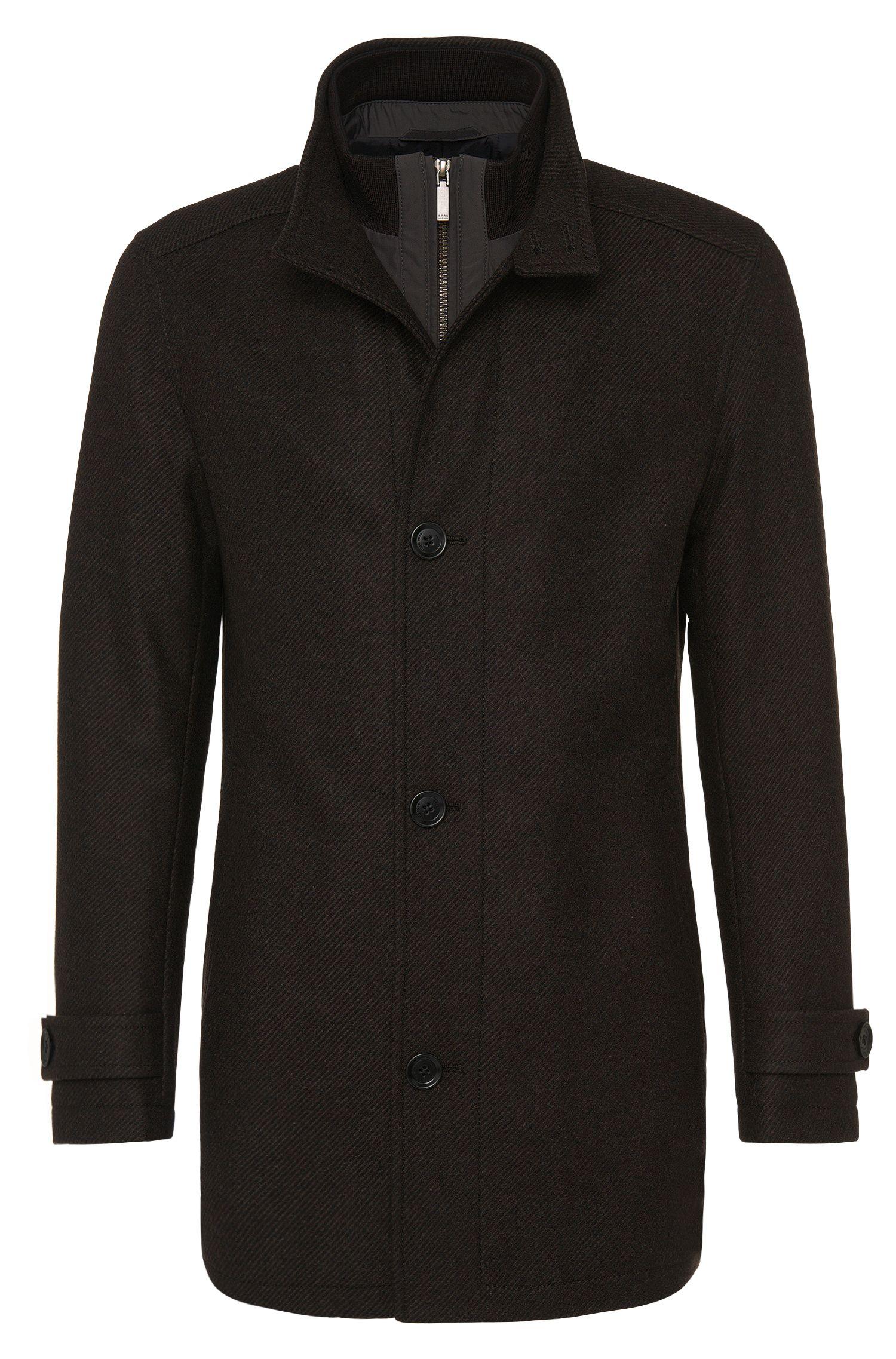 'Camlow'   Wool Blend Car Coat