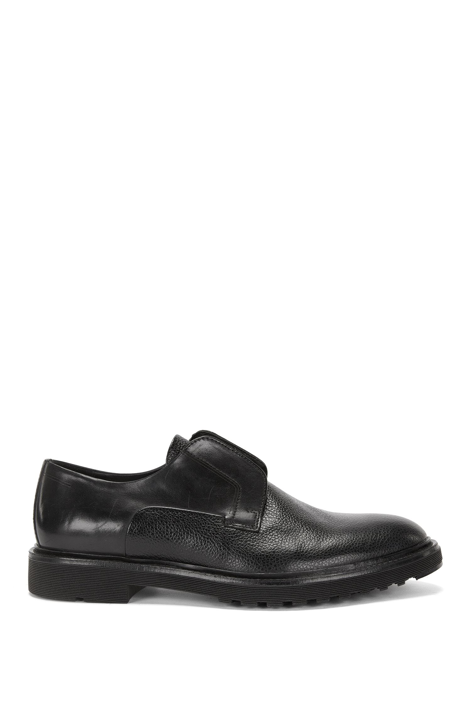 'Pure Slon Plgr ' | Leather Slip-On Derby Shoes