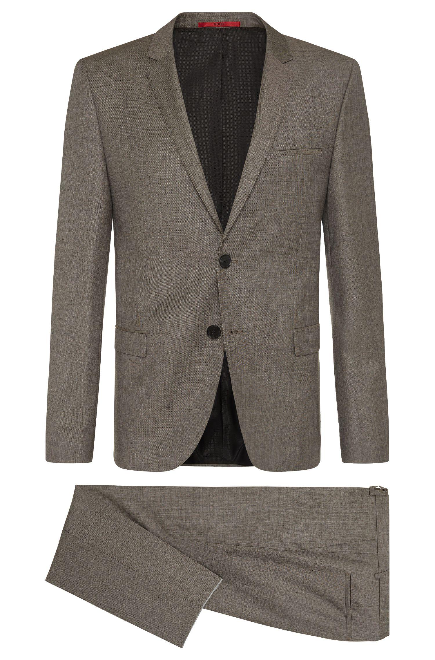'Arti/Helion' | Slim Fit, Virgin Wool Suit