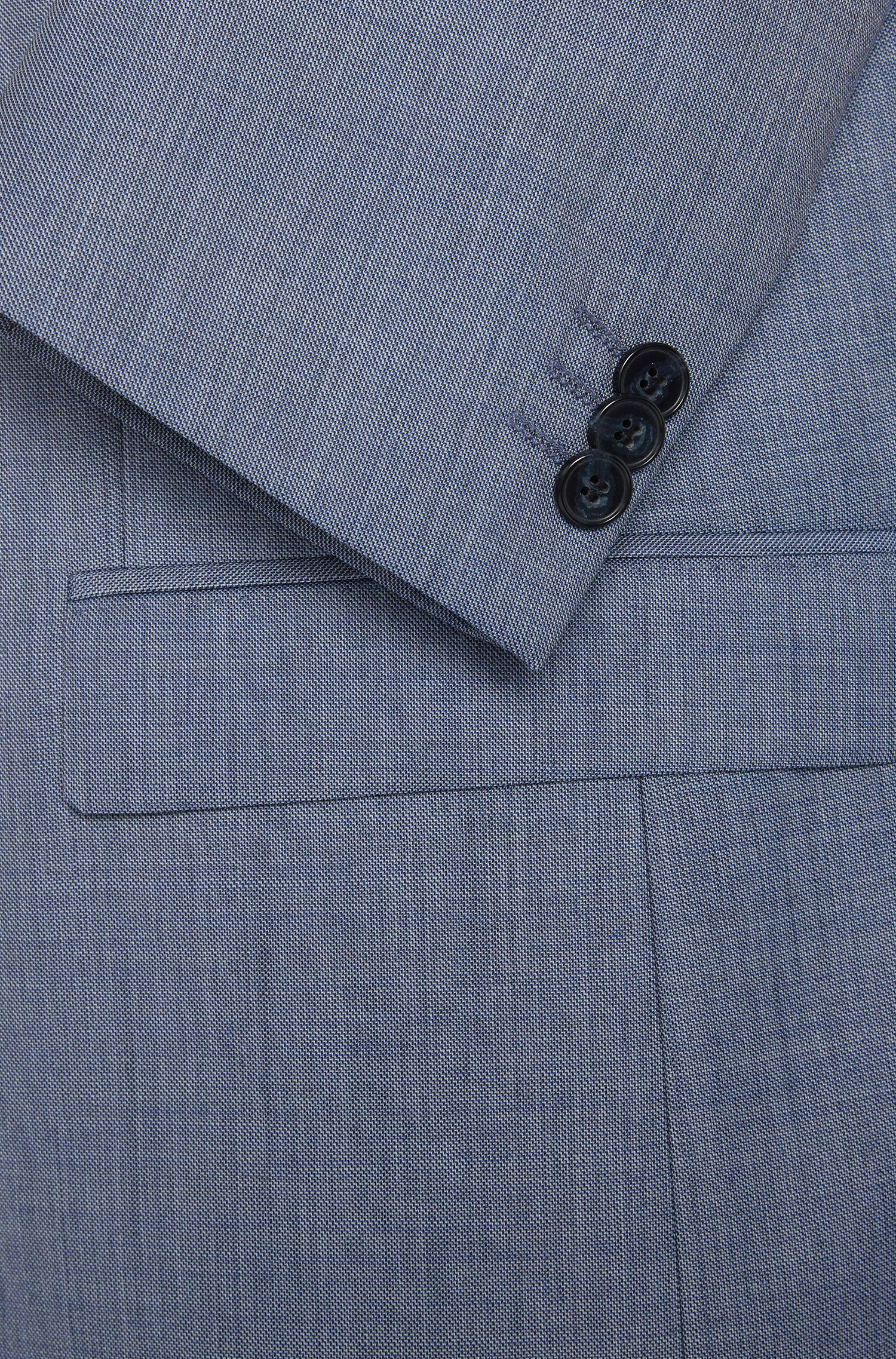 Heather Virgin Wool Suit, Slim Fit | Arti/Helion