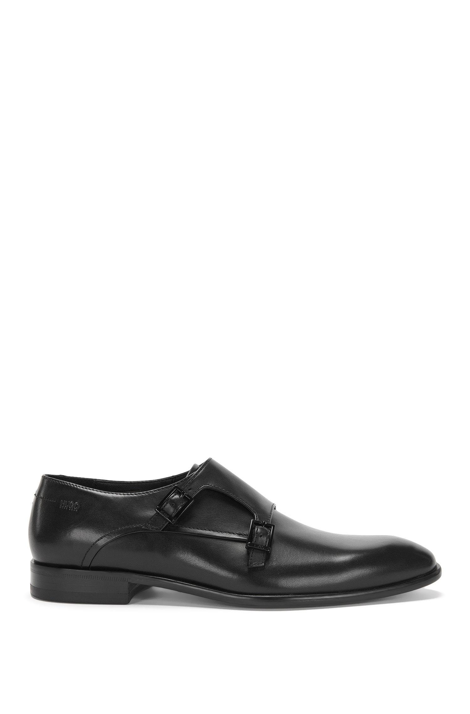 'Dressapp Monk Bu'   Calfskin Double Monk Strap Dress Shoes