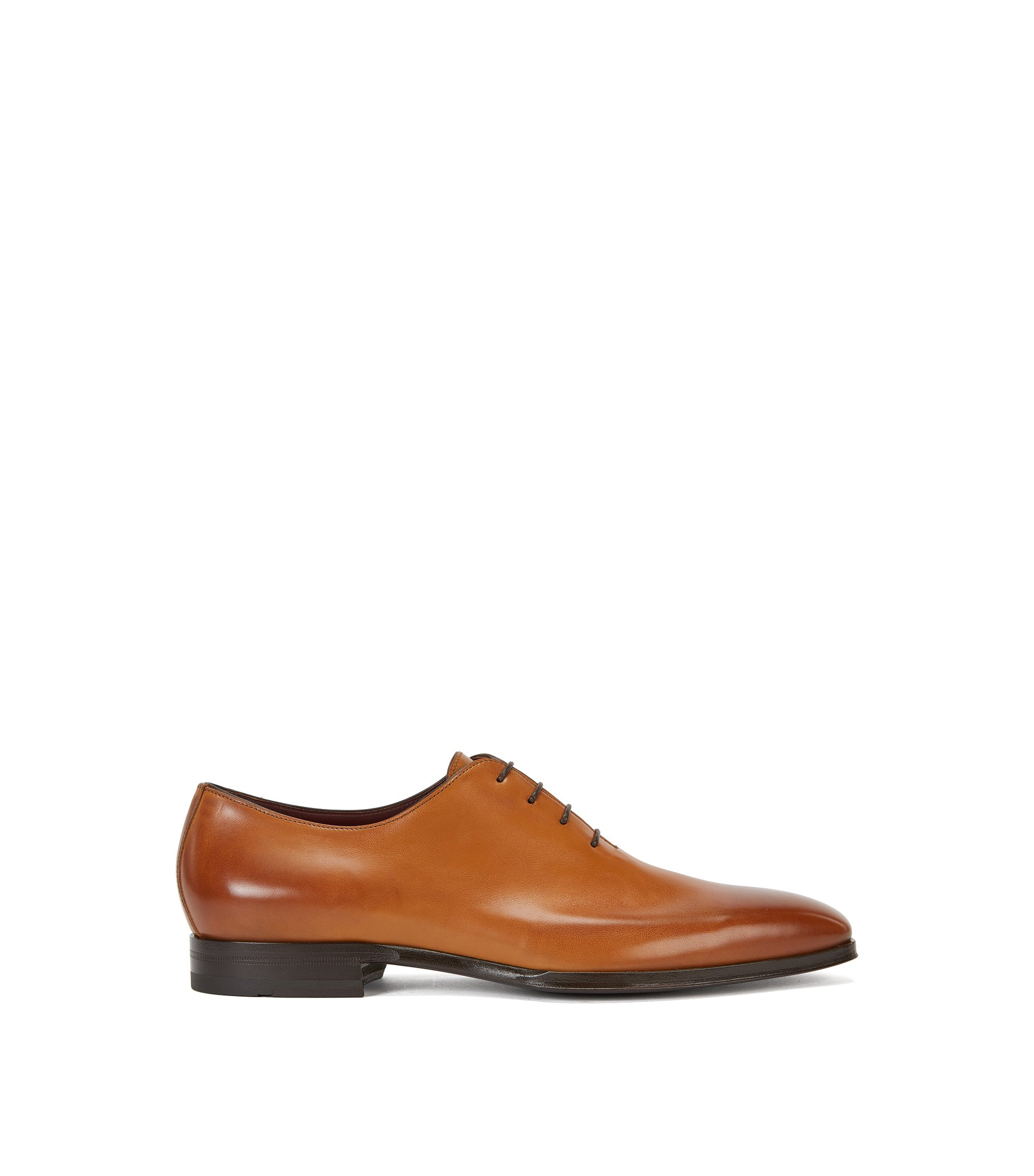 Italian Calfskin Oxford Dress Shoe | T-Club Oxfr ltpt, Brown