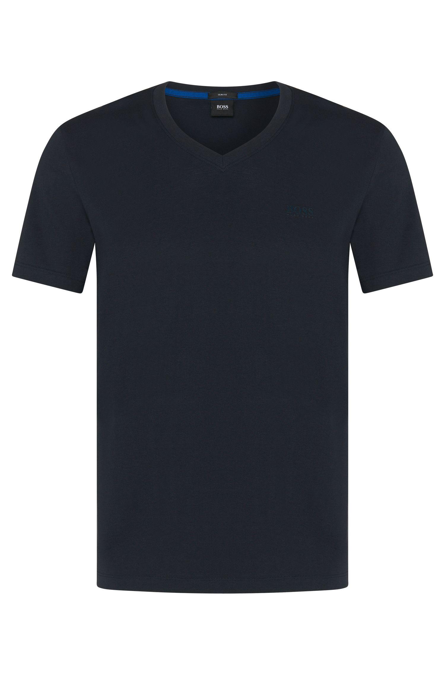 'Teal 11'   Cotton Melange T-Shirt