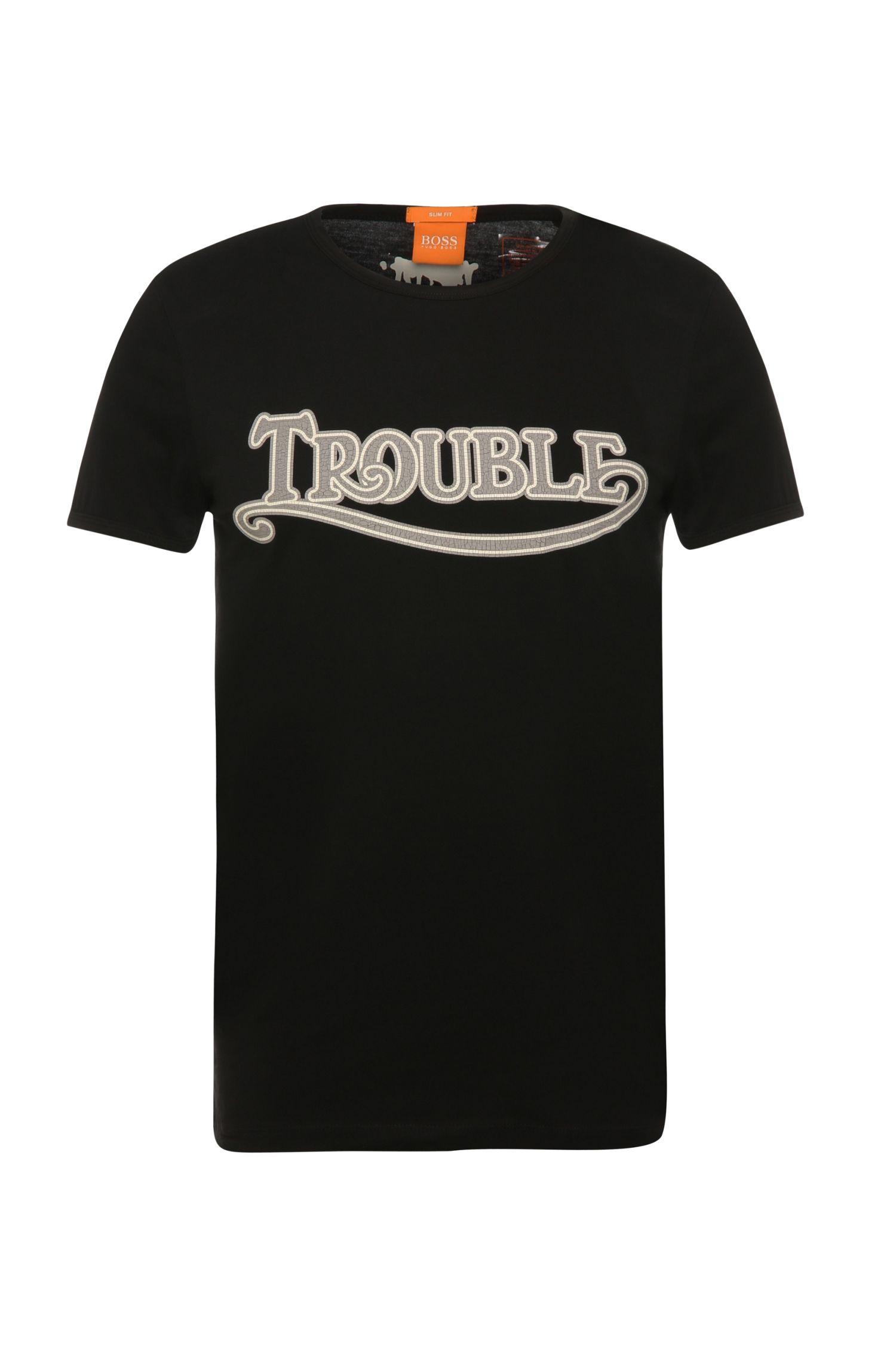 'Tebbo' | Cotton Screen Printed T-Shirt