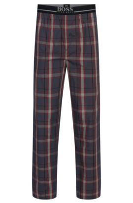'Long Pant EW' | Cotton Lounge Pants , Open Red