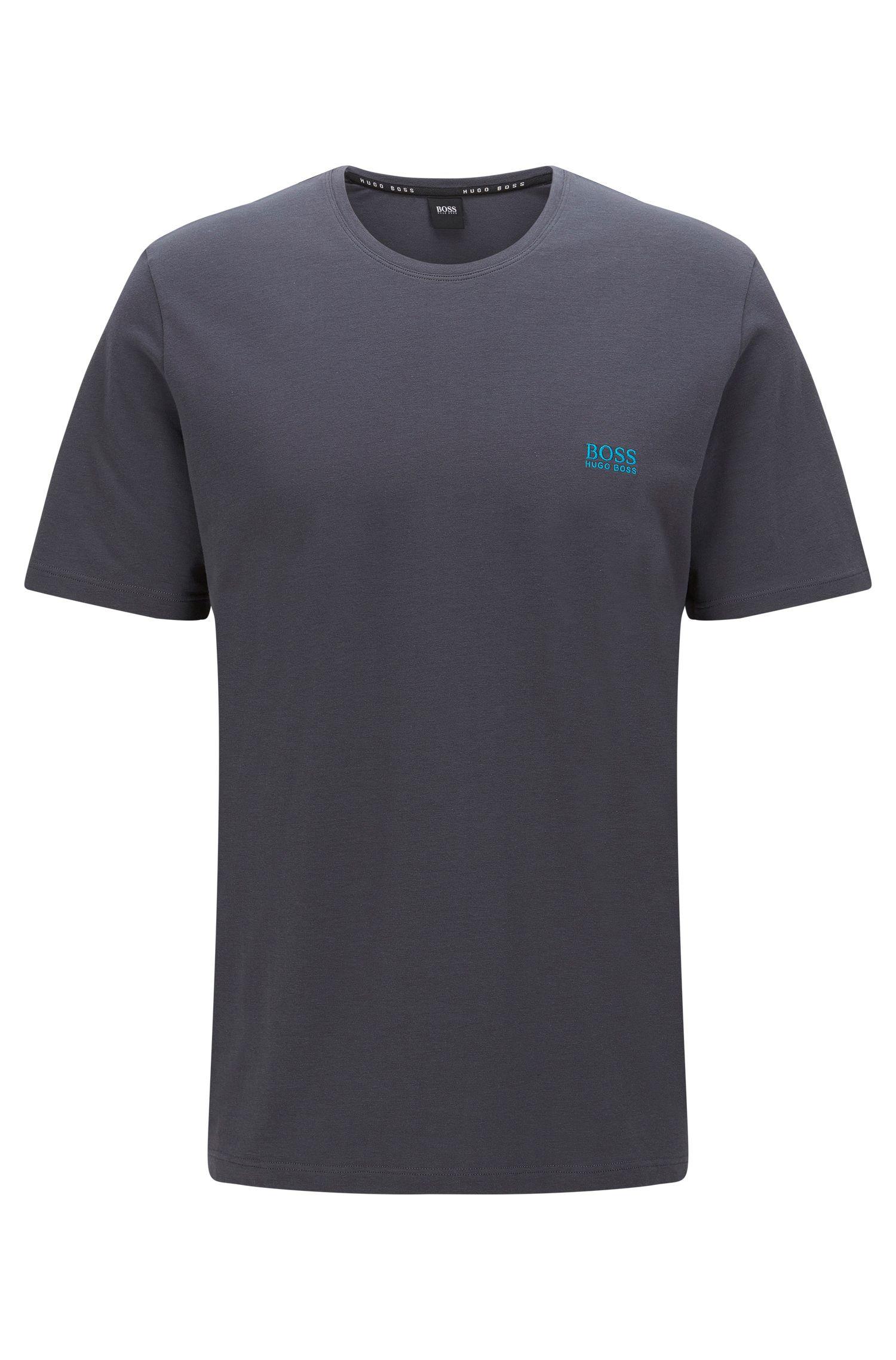 Stretch Cotton Log T-Shirt   T-Shirt RN