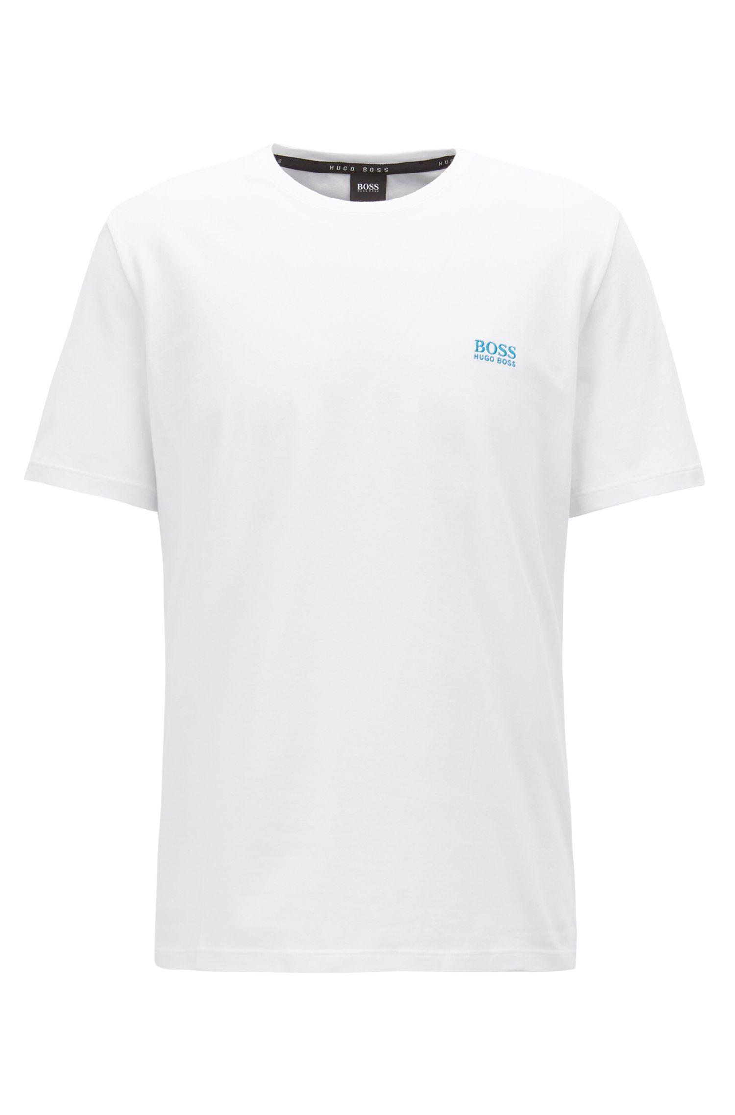 Stretch Cotton Log T-Shirt | T-Shirt RN