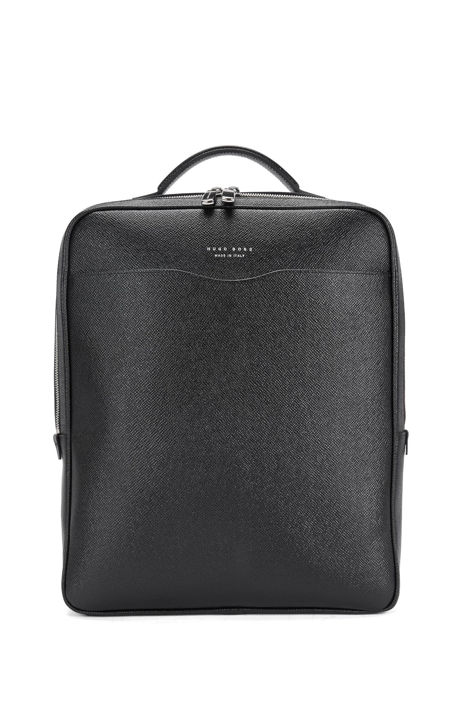'Signature Backpack' | Italian Calfskin Palmellato Embossed Backpack
