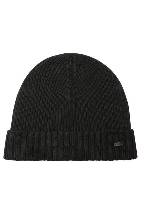 BOSS - Virgin Wool Beanie  42e1d301258
