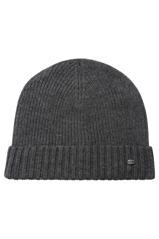 Virgin Wool Beanie | C-Fati, Charcoal