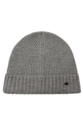 Virgin Wool Beanie | C-Fati, Grey