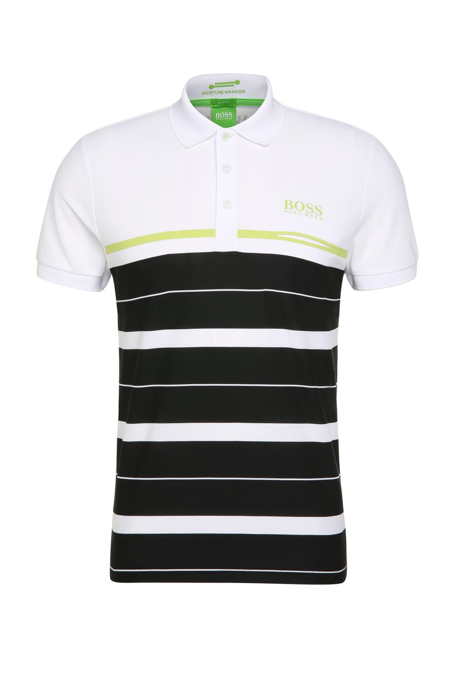 'Paule Pro'   Slim Fit, Moisture Manager Cotton Polo Shirt