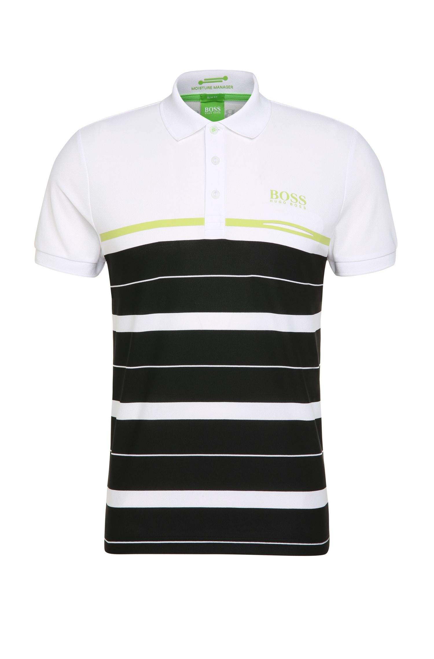 'Paule Pro' | Slim Fit, Moisture Manager Cotton Polo Shirt
