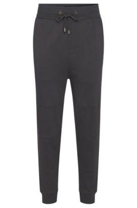'Long Pant Cuffs' | Cotton Jersey Lounge Pants, Charcoal
