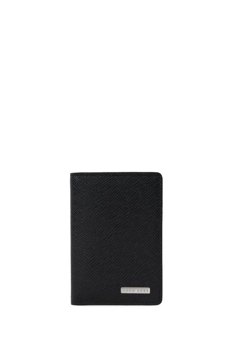 f54359d56f6 'Signature Bifold' | Leather Bifold Wallet, Black. '