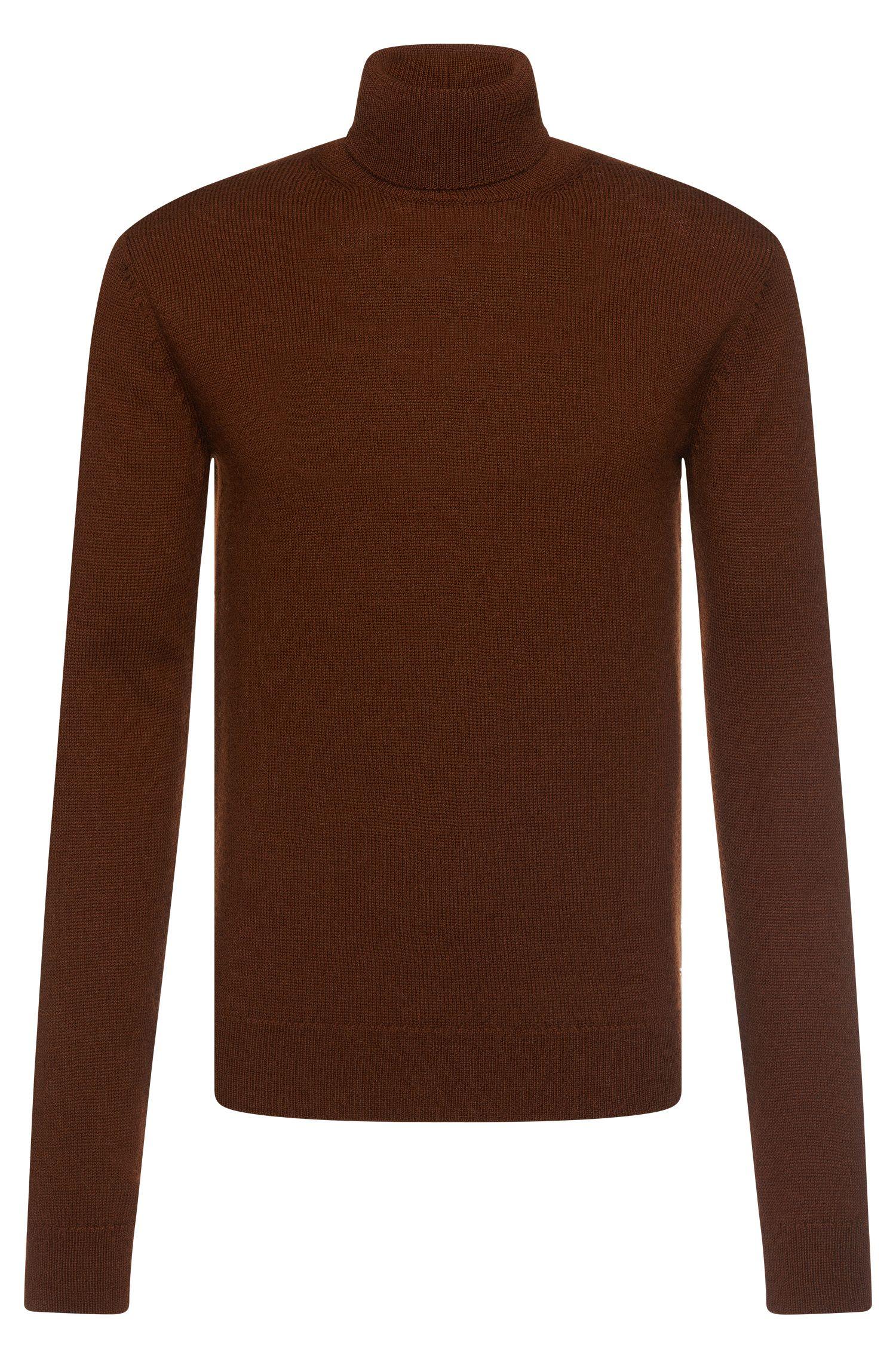 'T-Bax' | Italian Virgin Wool Alpaca Turtleneck Sweater