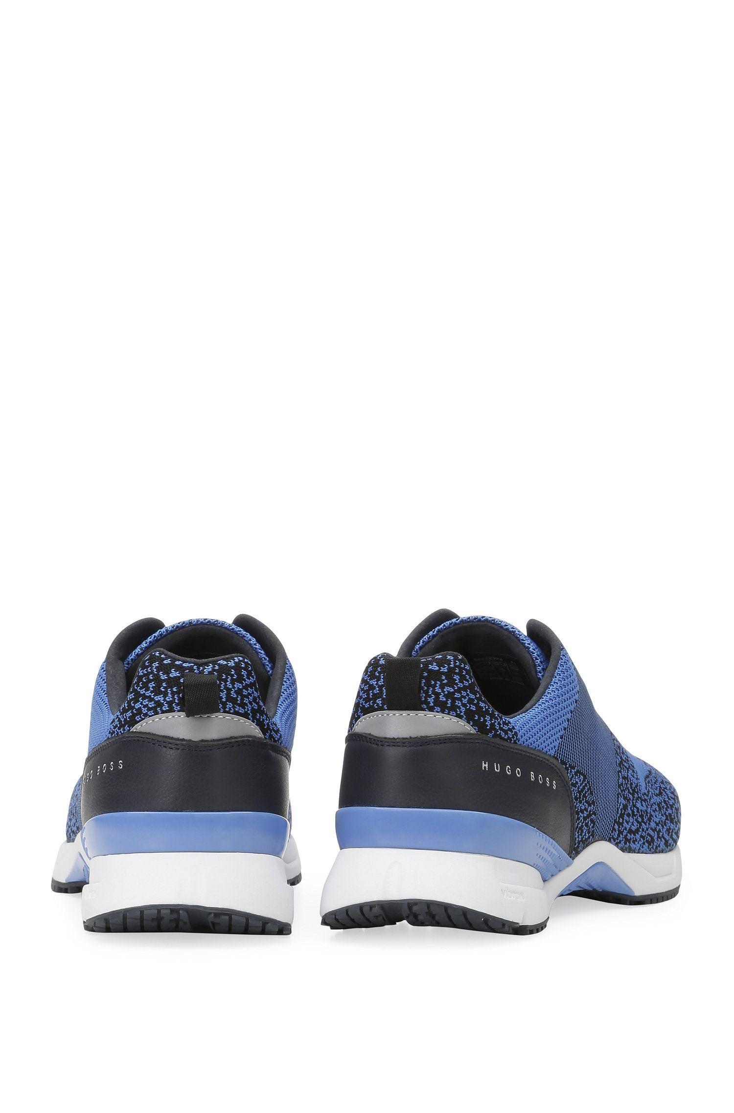 Knit Upper Sneaker | Velocity Runn Sykn, Blue