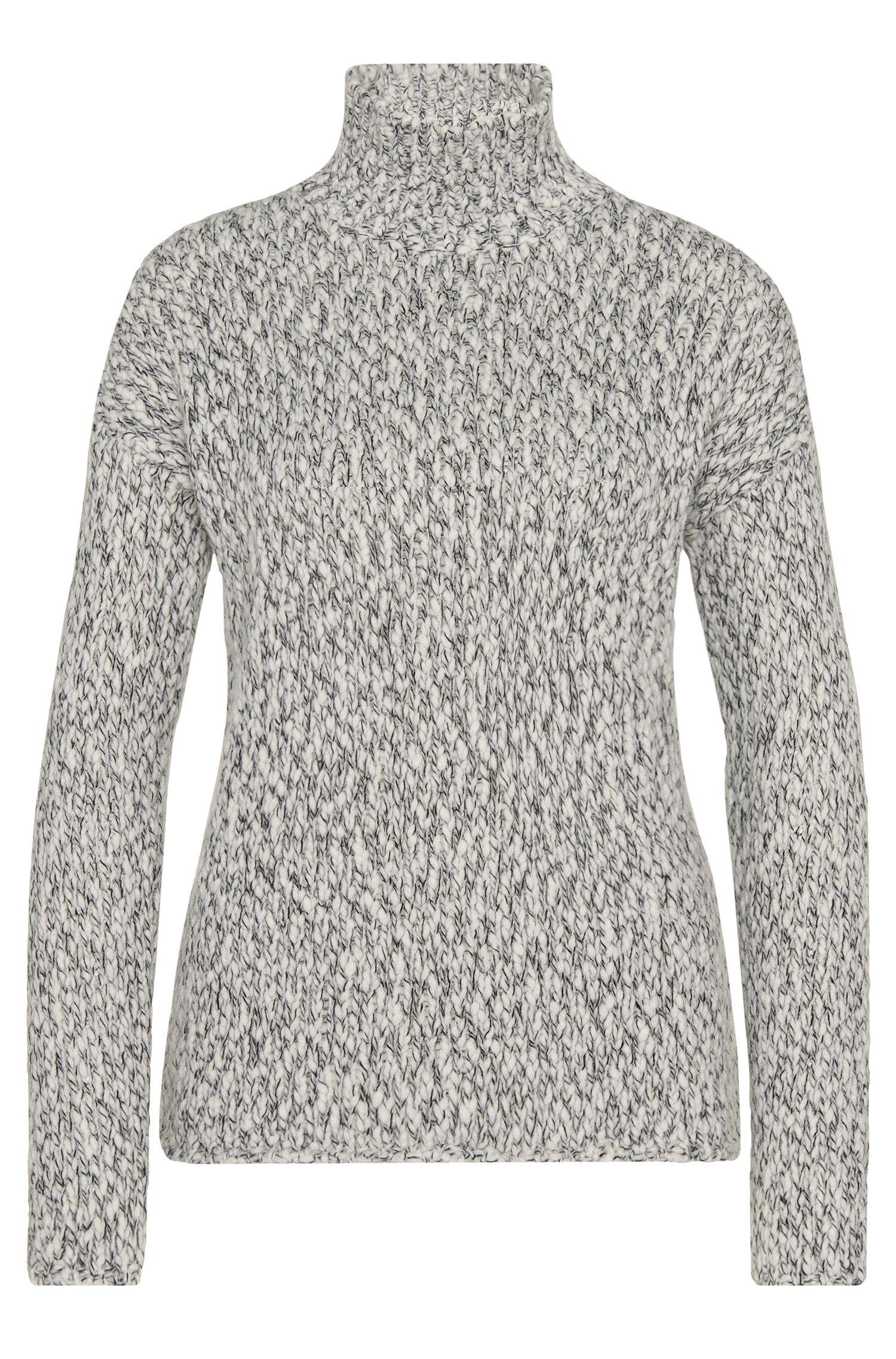 'Starly'   Wool Blend Mock Turtleneck