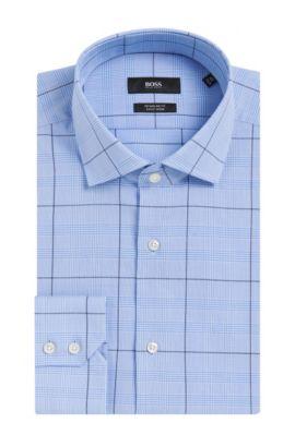 Easy Iron Cotton Dress Shirt, Regular Fit | Gordon, Light Blue