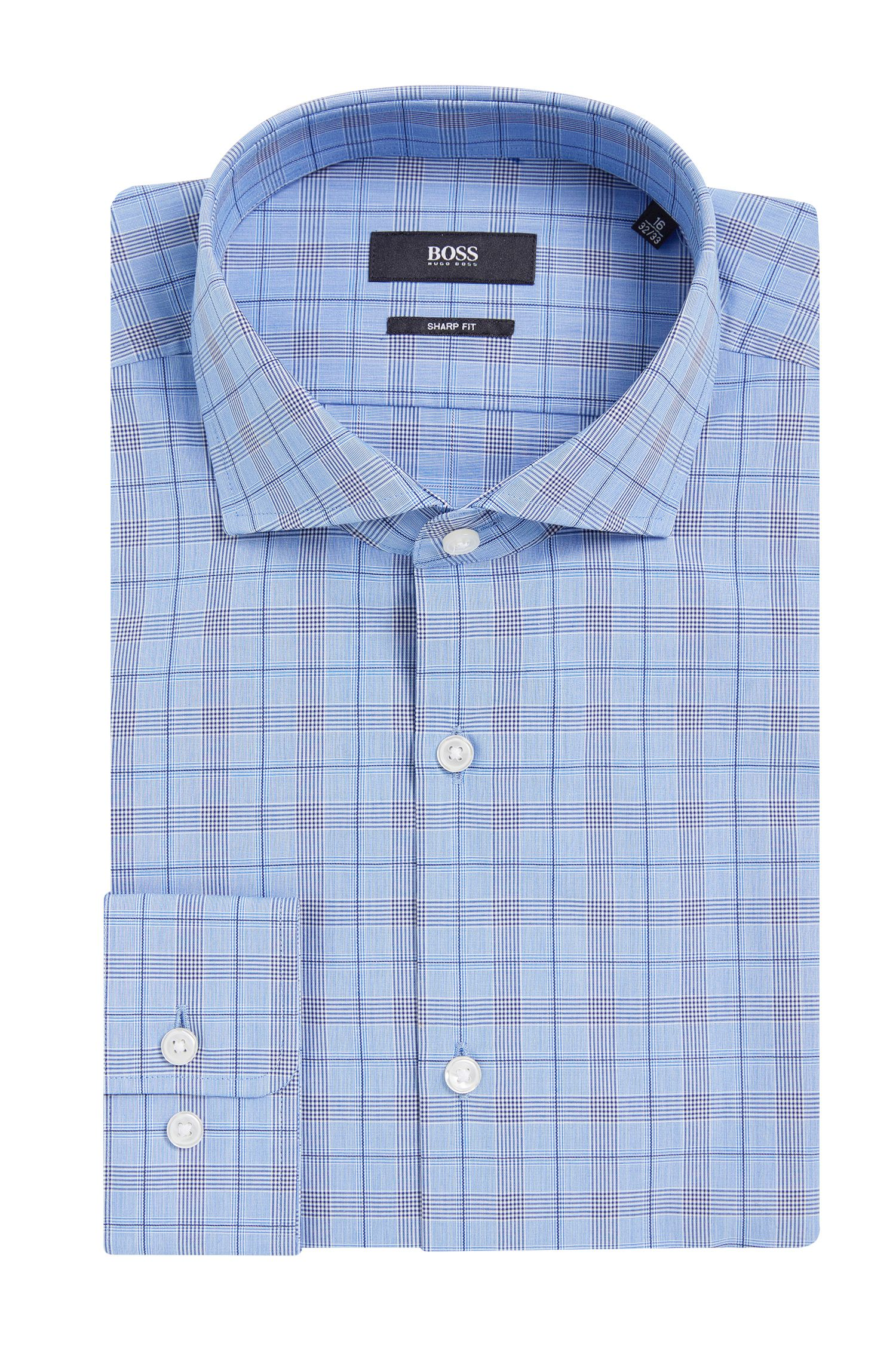 'Mark US'   Sharp Fit, Cotton Patterned Dress Shirt
