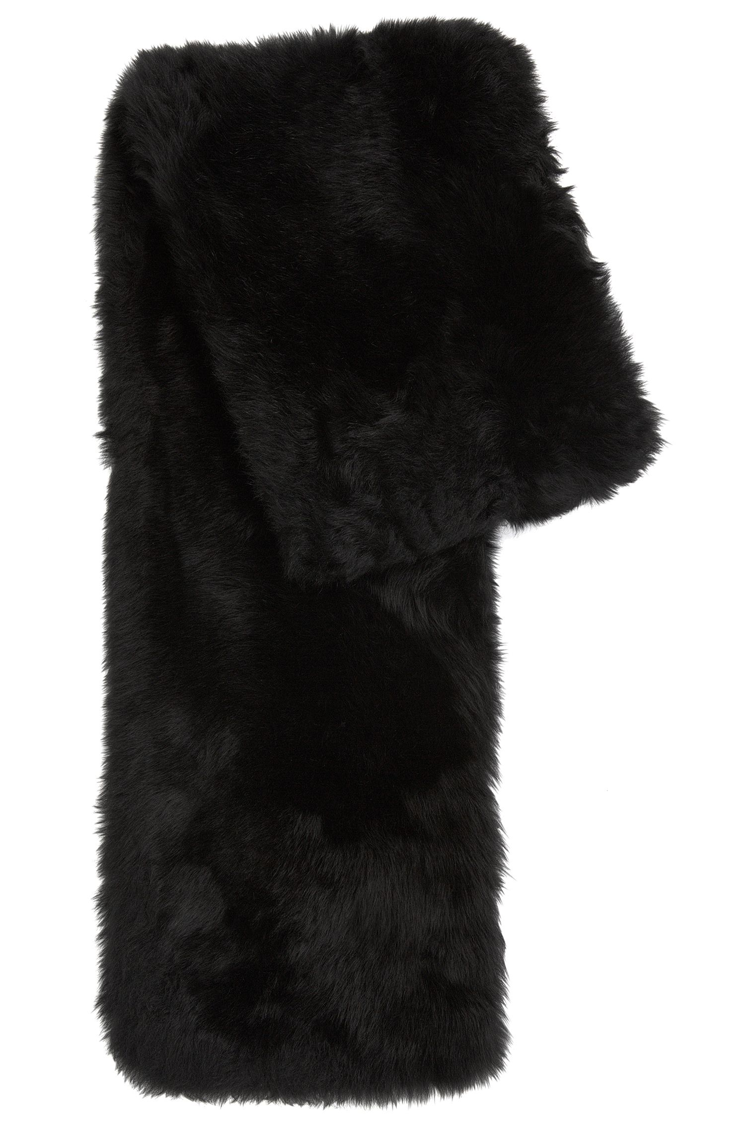 'Scapie' | Brushed Lambskin Fur Scarf
