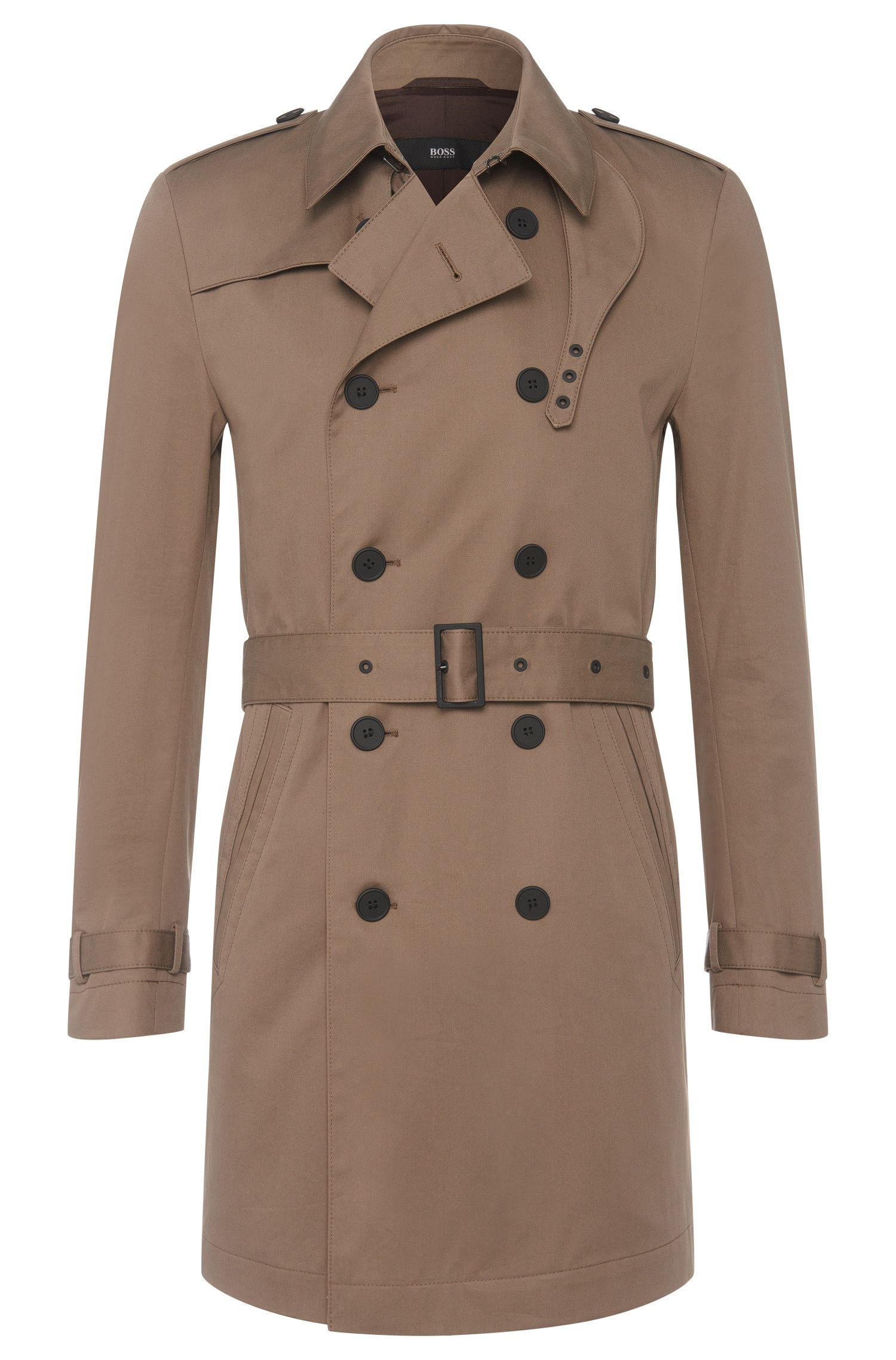 'Dan' | Cotton Water-Repellent Trench Coat
