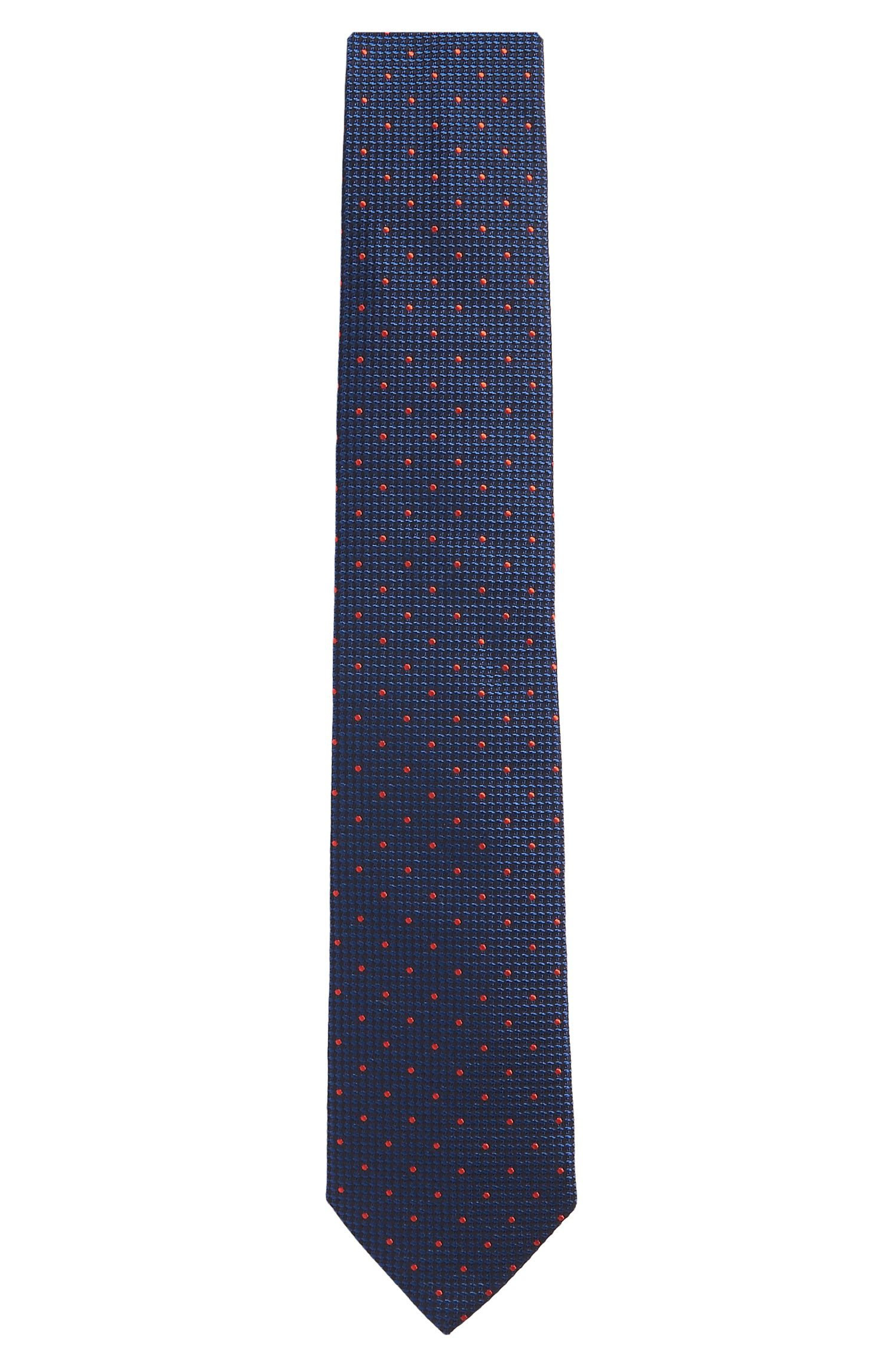 'Tie 7.5 cm' | Regular, Italian Silk Embroidered Tie
