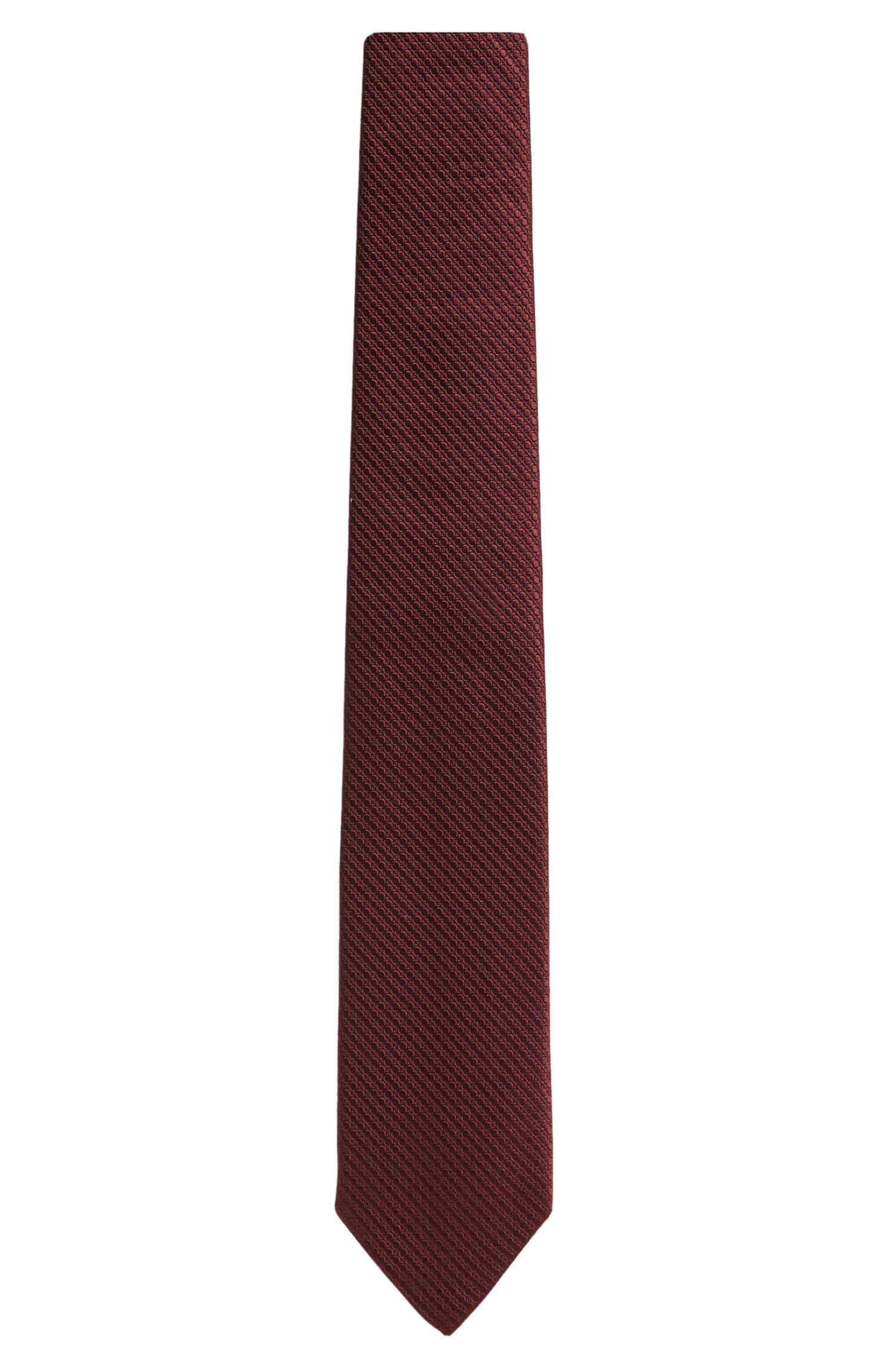 'Tie 7.5 cm'   Regular, Italian Silk Patterned Tie