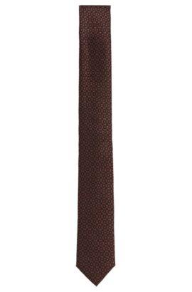 'T-Tie 6 cm'   Slim, Italian Silk Tie, Red