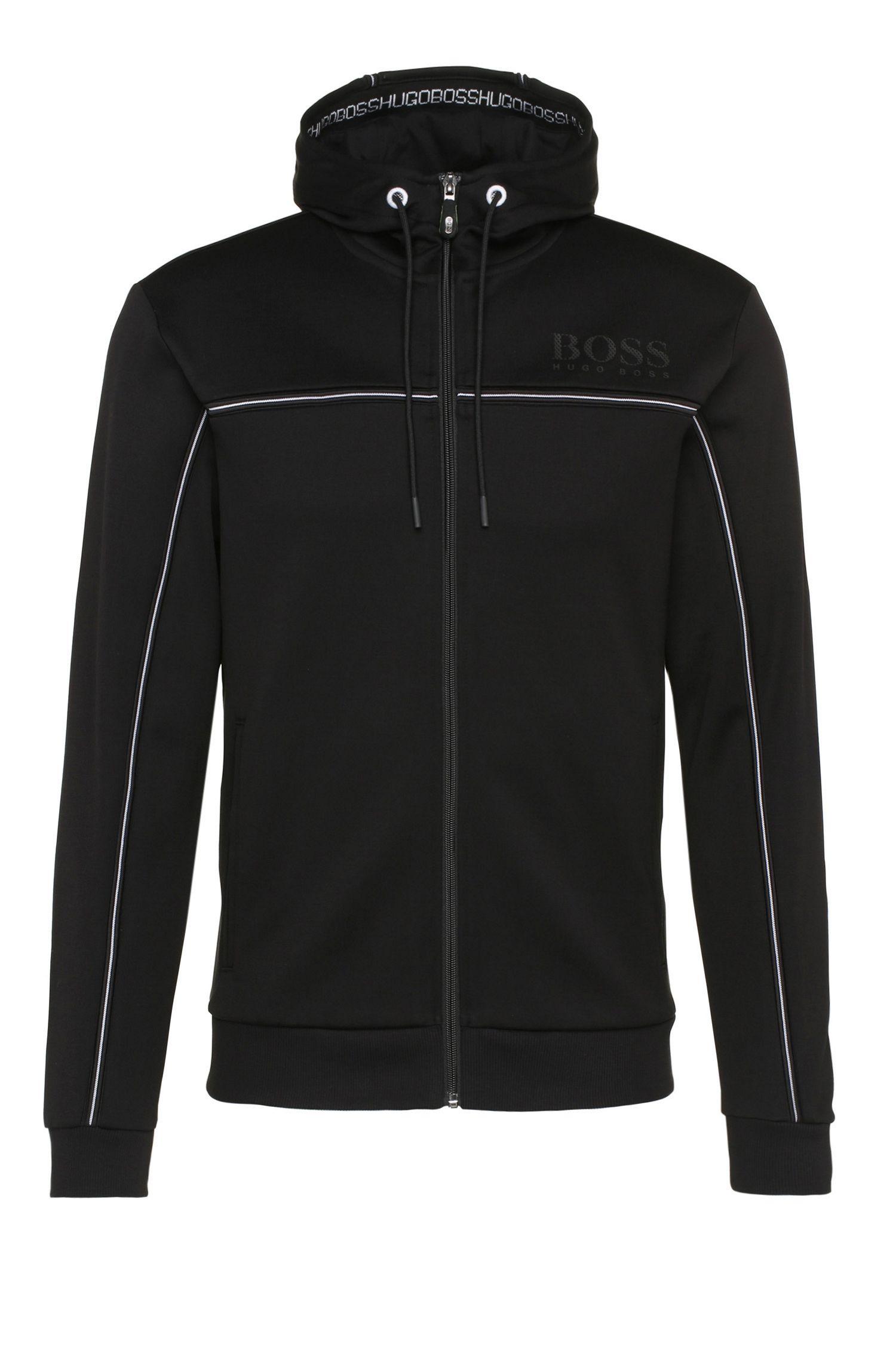 'Saggy'   Cotton Nylon Zip Track Jacket