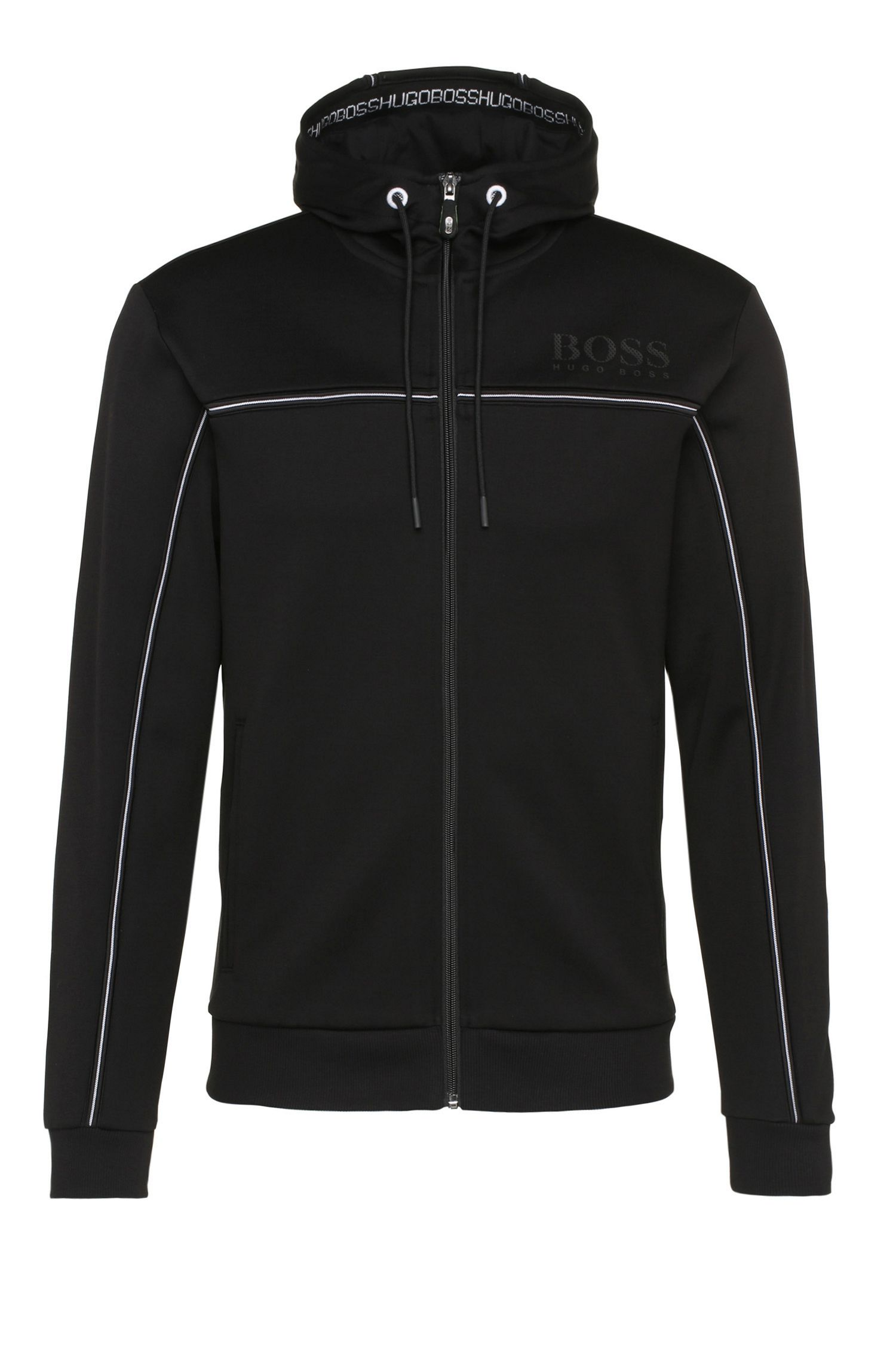 'Saggy' | Cotton Nylon Zip Track Jacket