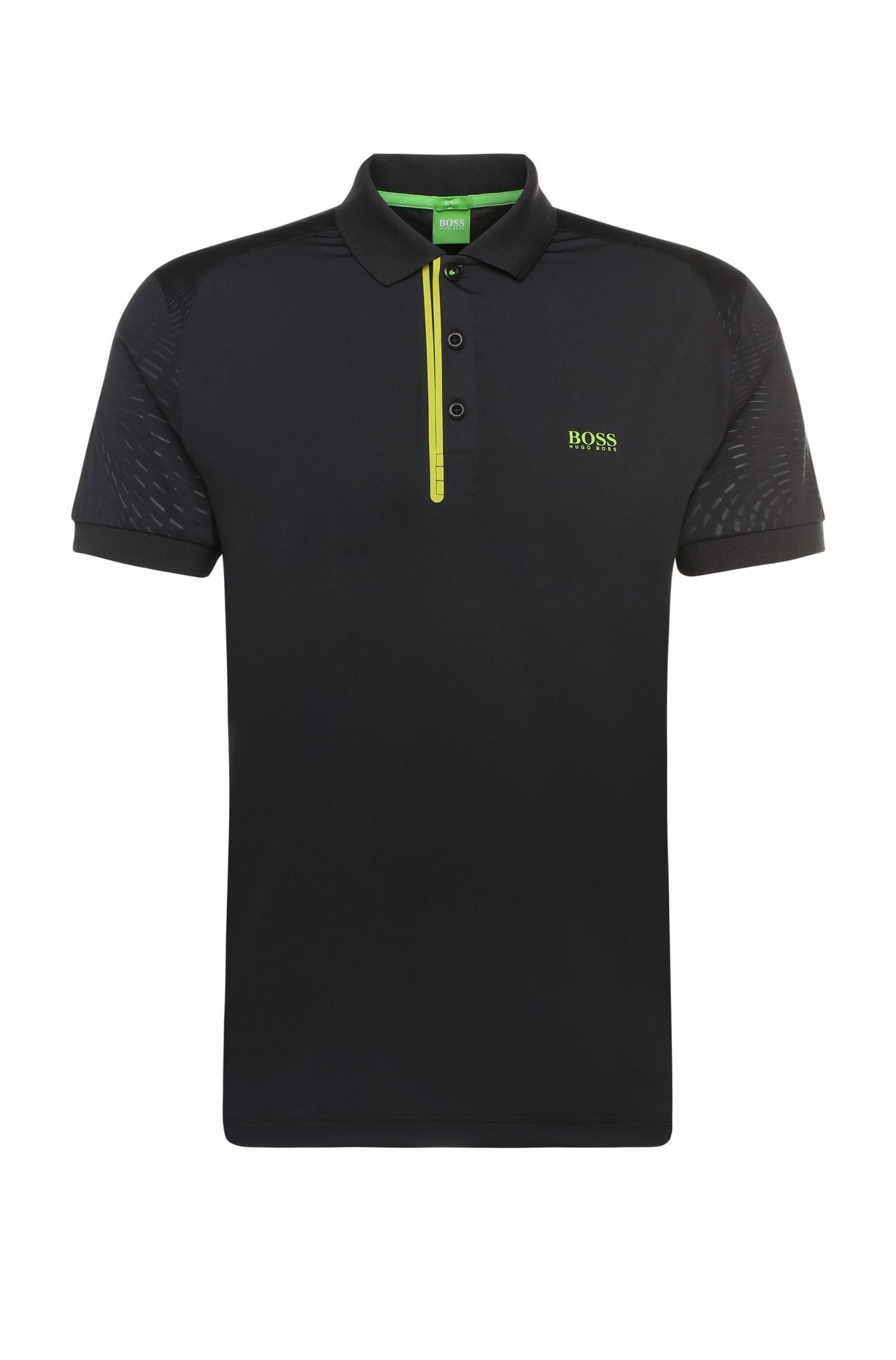 'Pavotech'   Slim Fit, Stretch Techno Jersey Polo Shirt