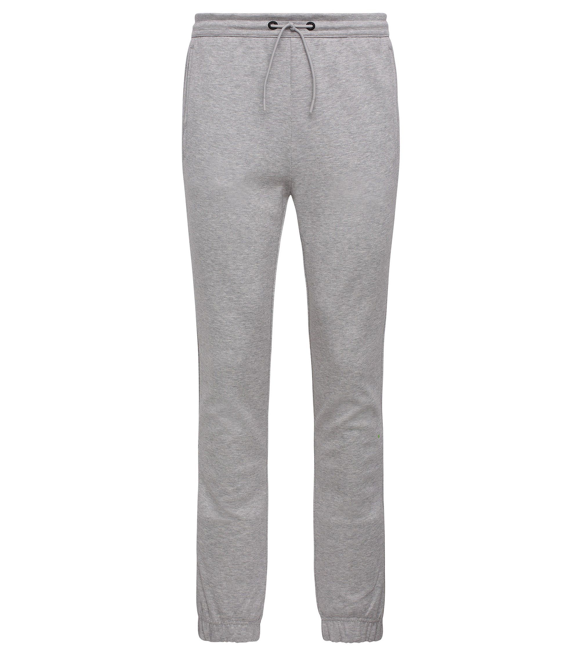 Cotton Blend Melange Sweatpant | Hadiko, Light Grey