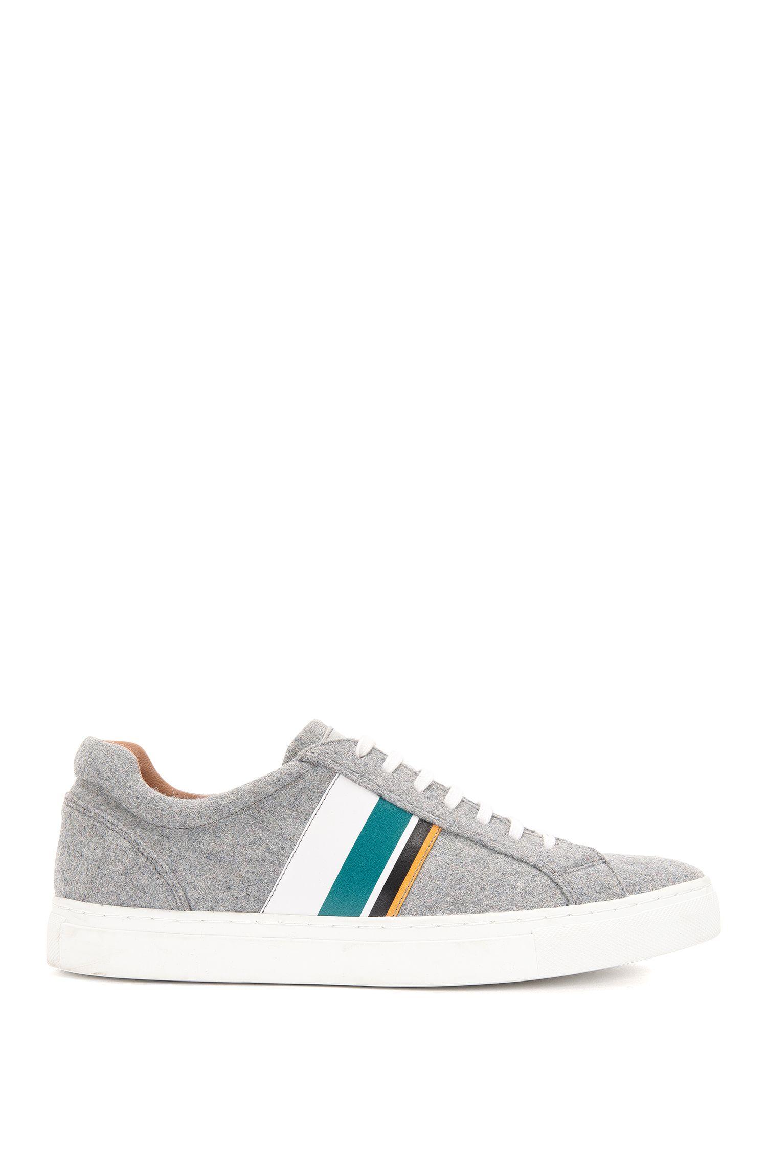 'Low Cut LB' | Wool Calfskin Sneakers