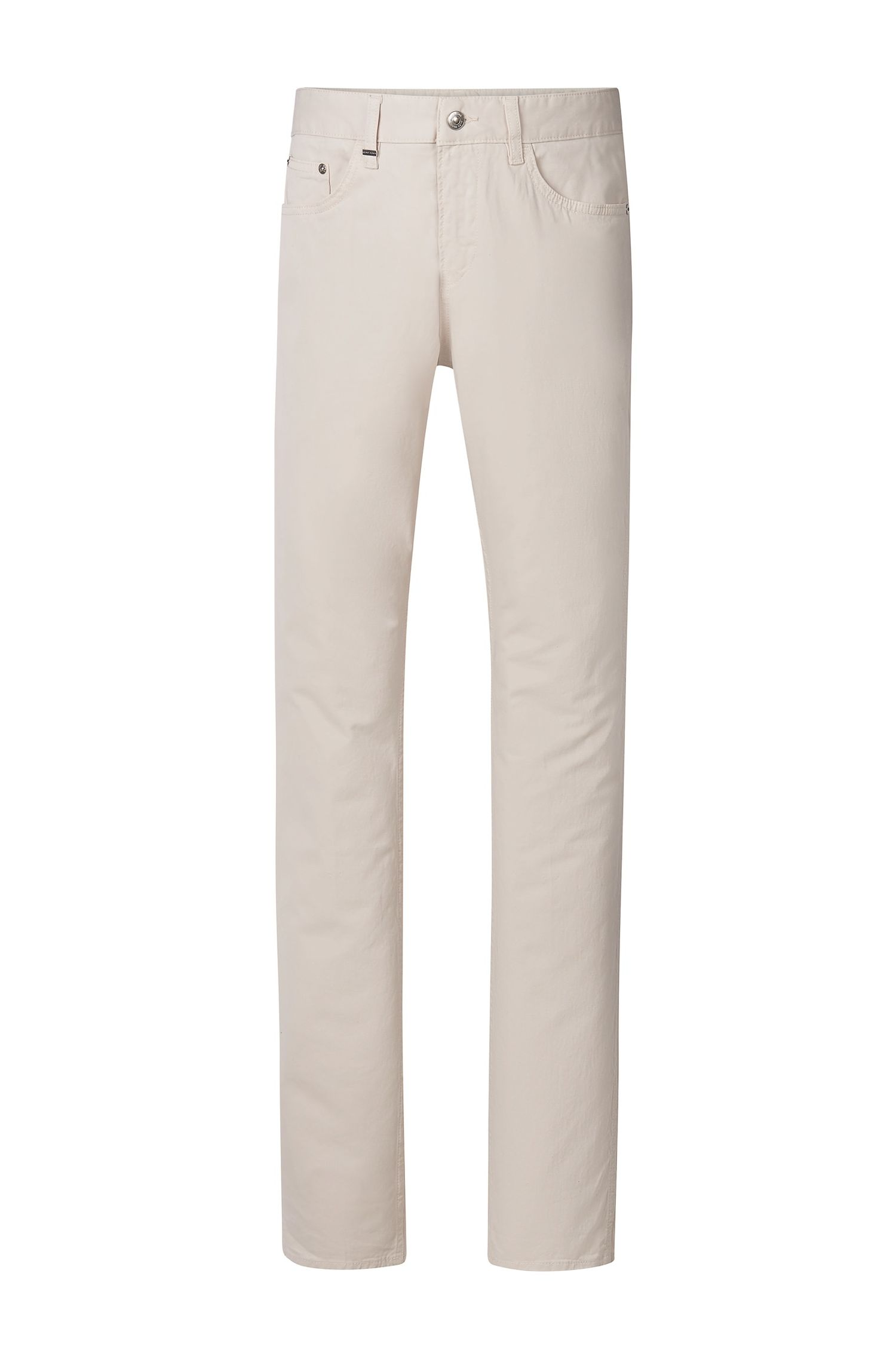 Stretch Cotton Jeans, Slim Fit   Delaware