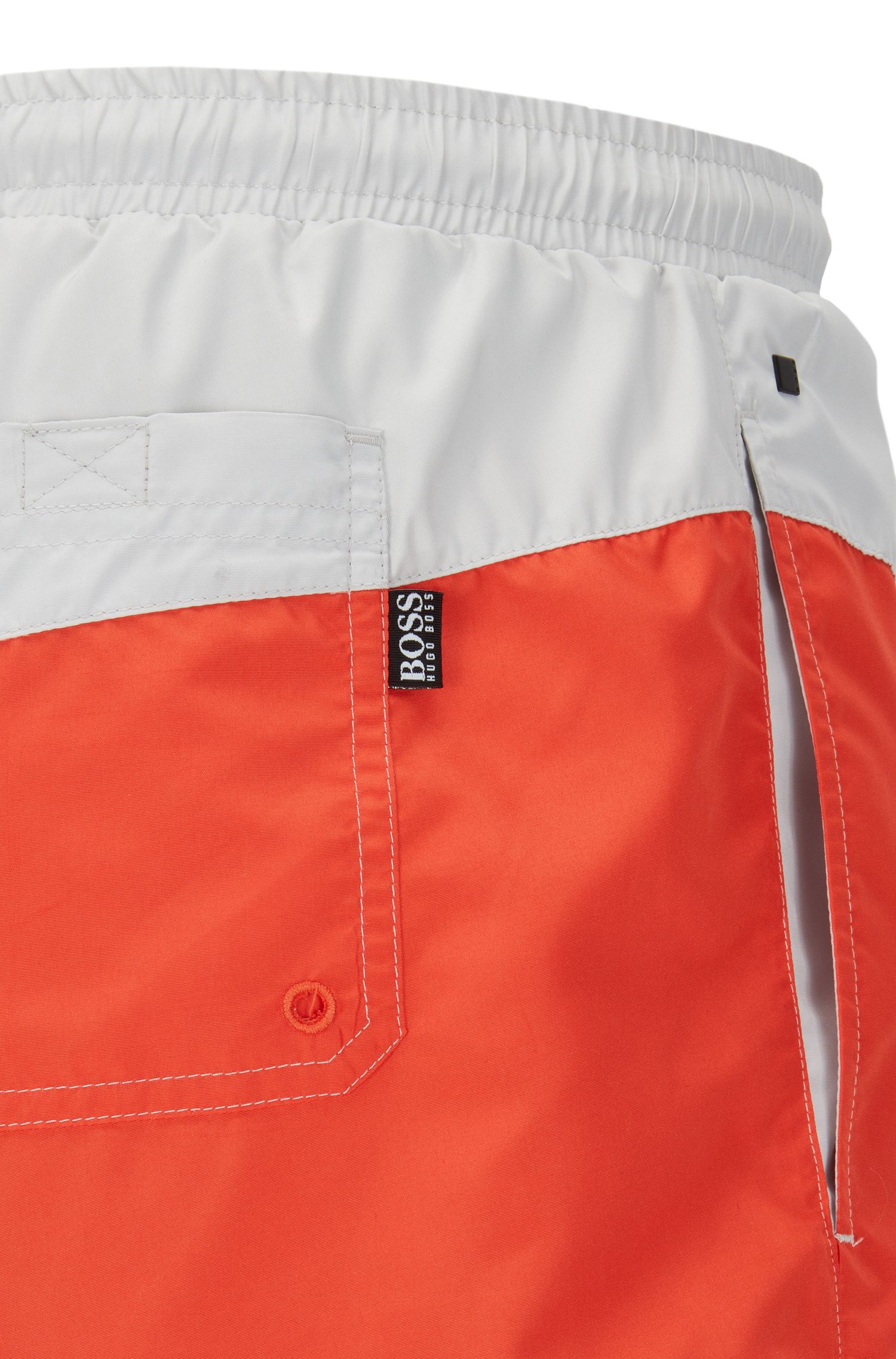 Quick Dry Swim Trunk | Butterflyfish, Open Red