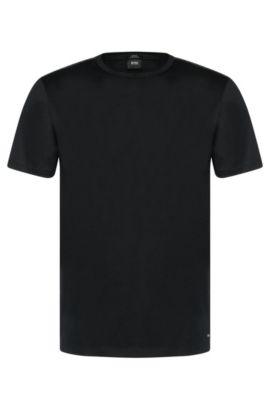 Mercerized Cotton T-Shirt   Tessler, Black