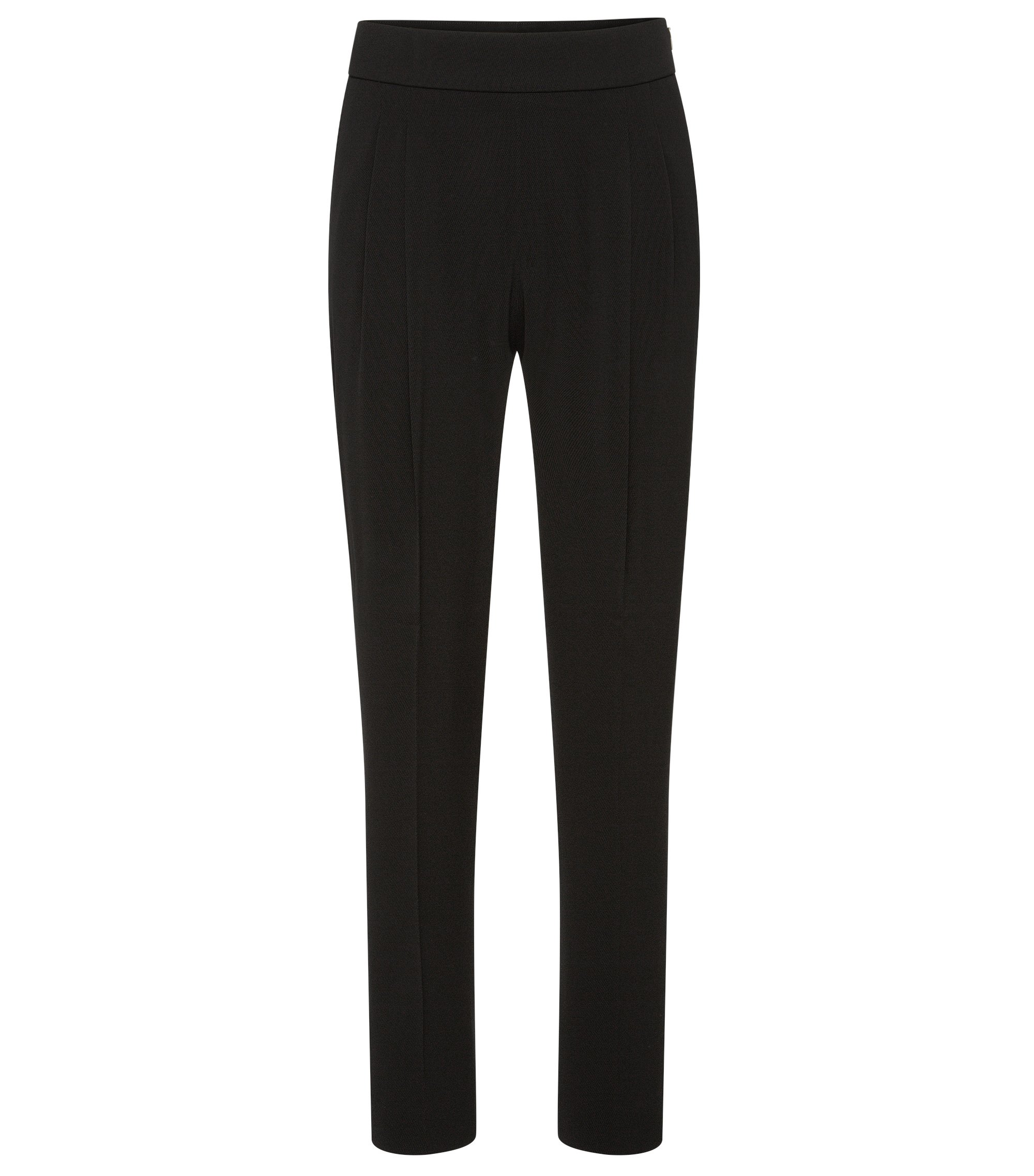 Stretch Crepe Twill Dress Pant | Tolia, Black
