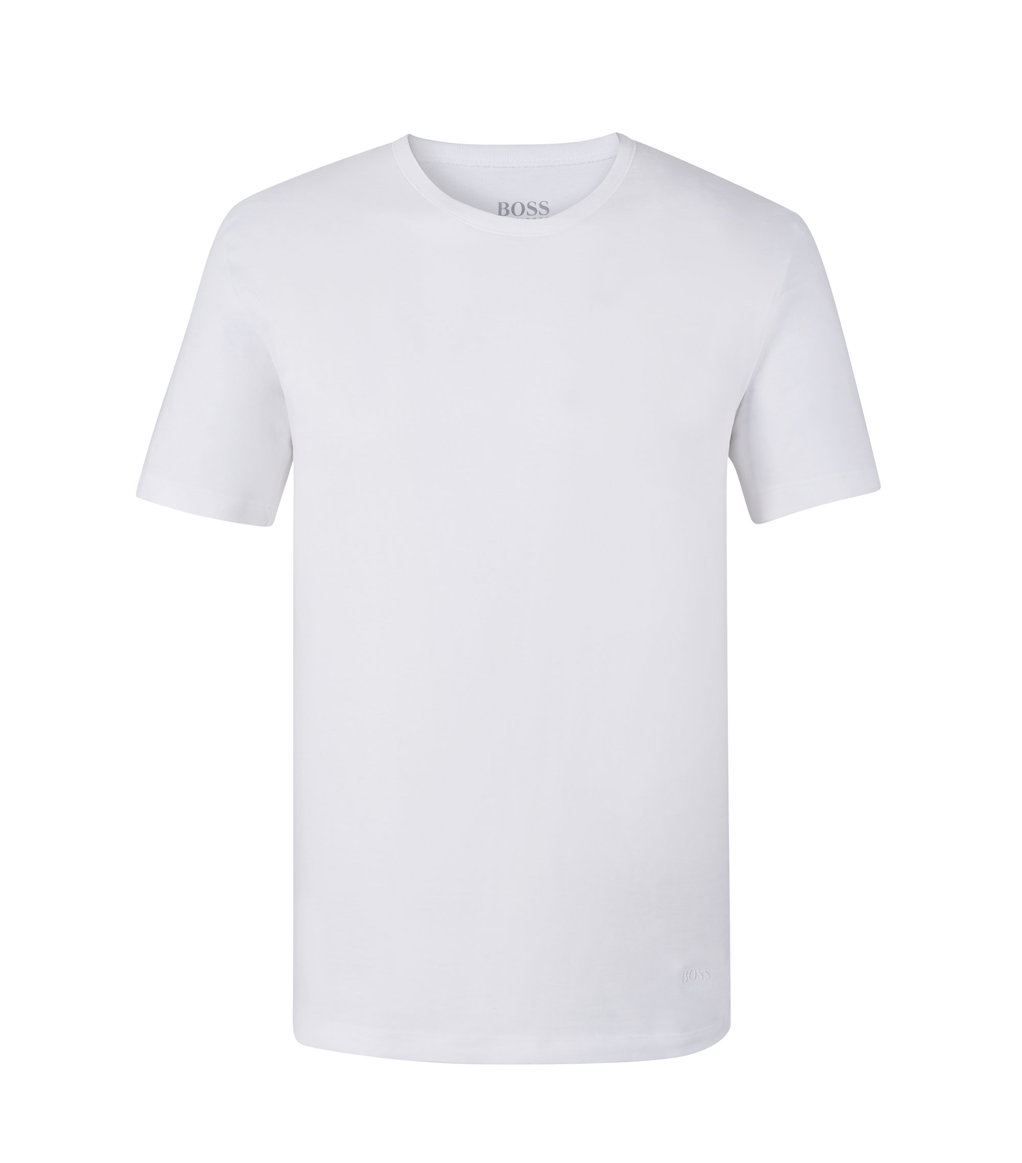 Cotton Jersey T-Shirt, 3-Pack | T-Shirt RN, White