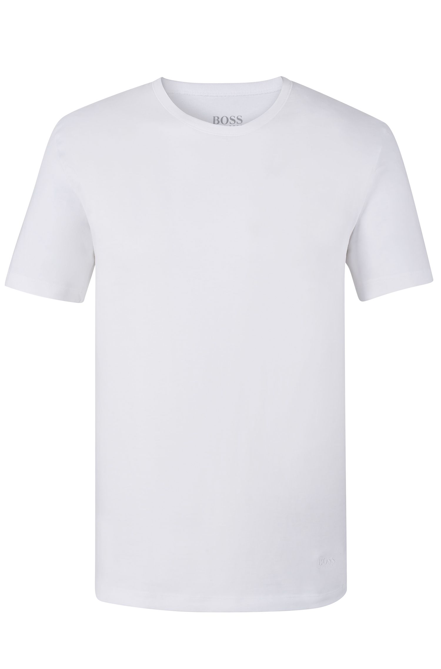 Cotton Jersey T-Shirt, 3-Pack | T-Shirt RN, White