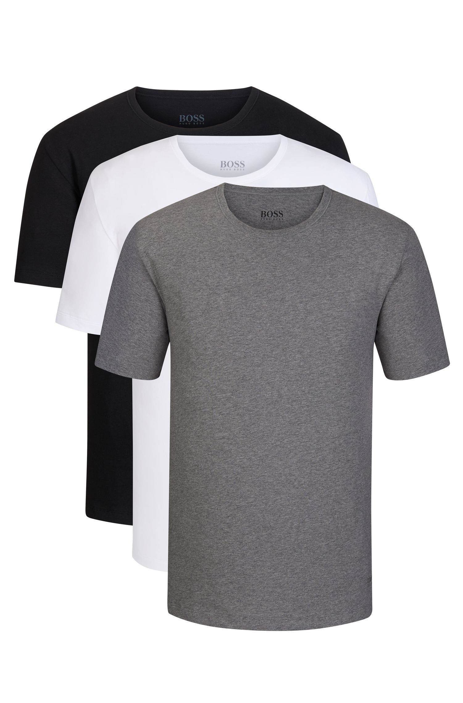 Cotton Jersey T-Shirt, 3-Pack | T-Shirt RN