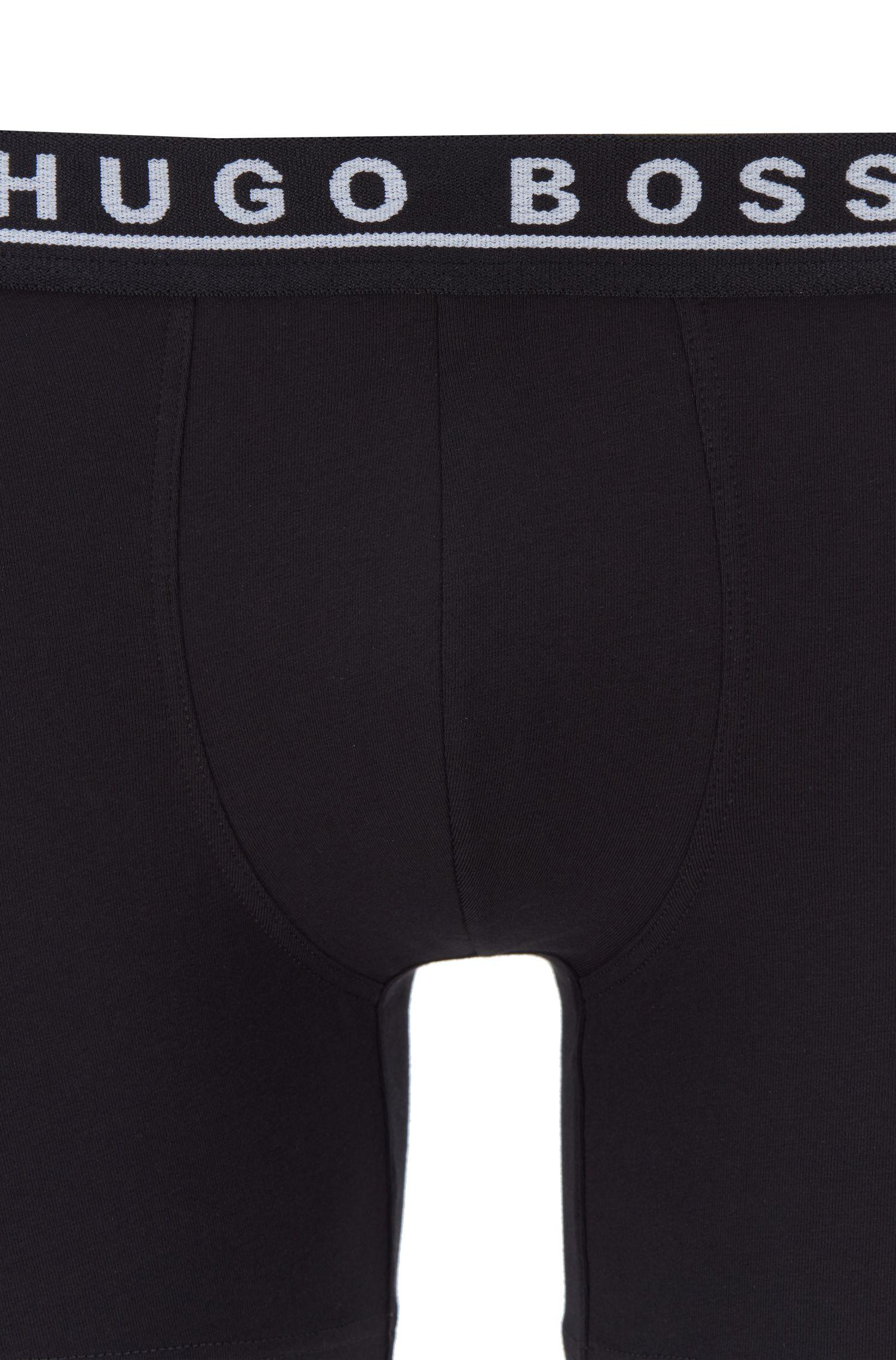 Stretch Cotton Boxer Briefs, 3-Pack | Brief 3P CO/EL, Black