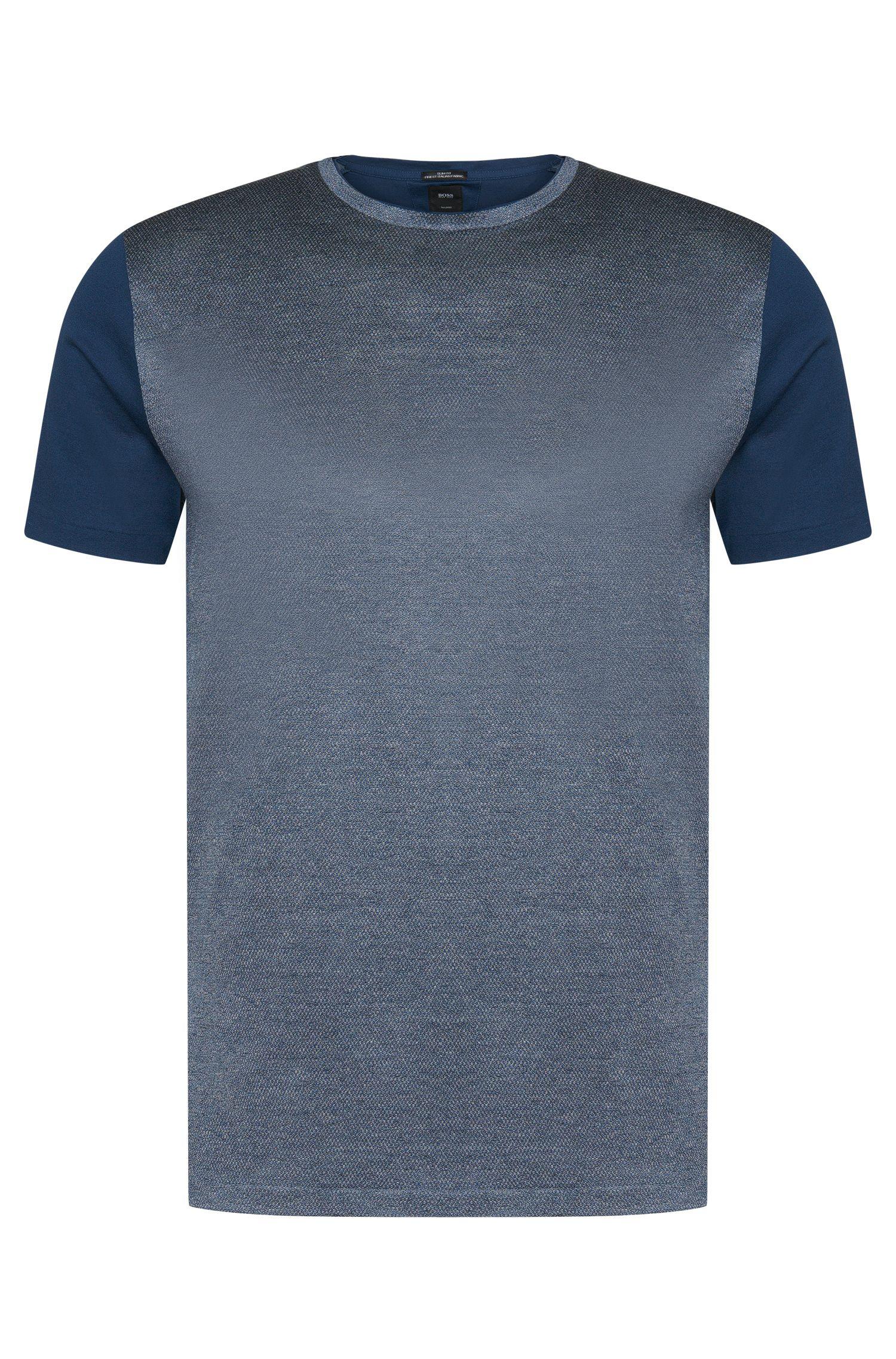 'T-Tribel'   Italian Cotton Jacquard T-Shirt