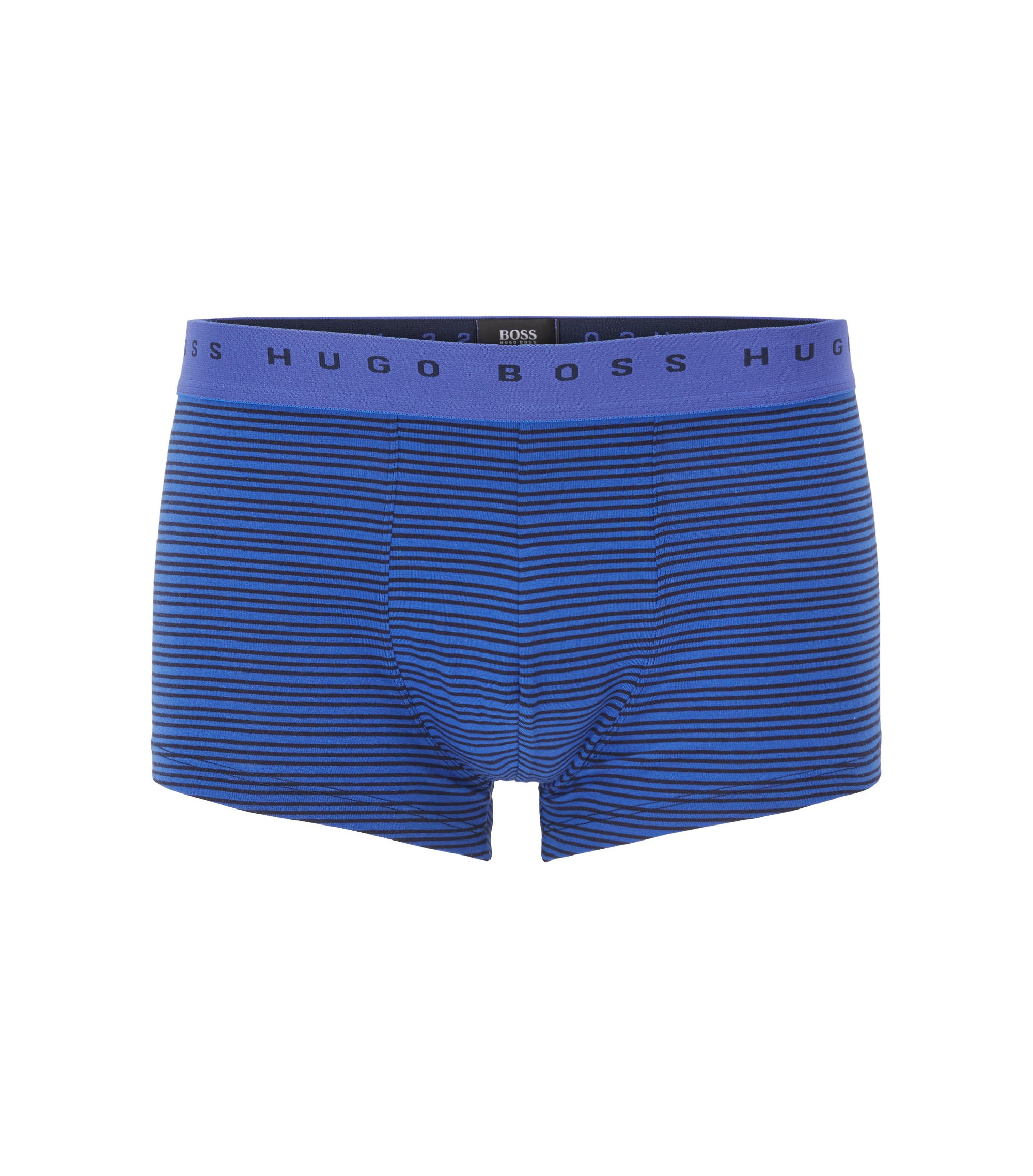 Stretch Cotton Trunk | Trunk Stripe, Open Blue