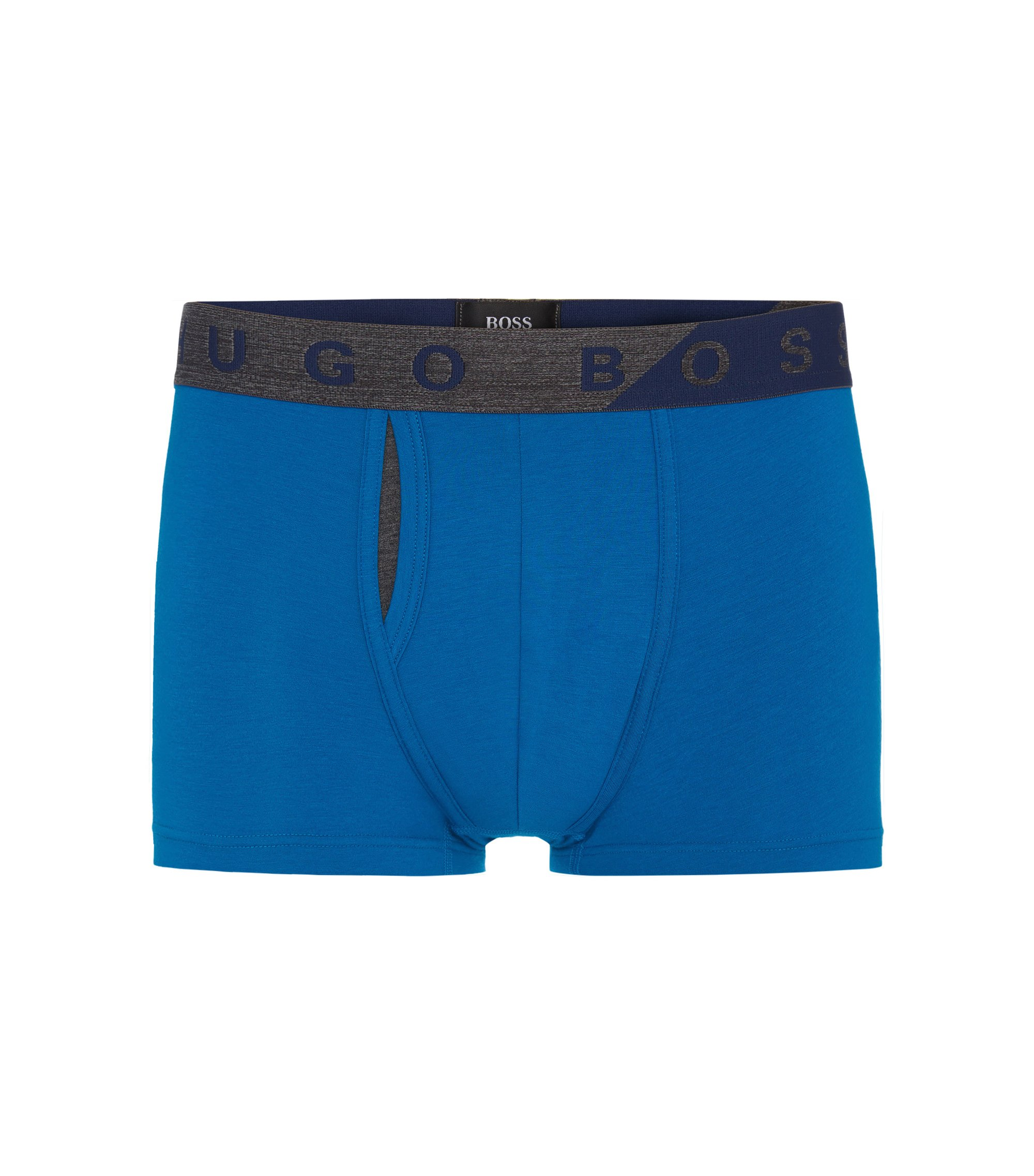Stretch Cotton Modal Trunk | Trunk Comfort, Blue