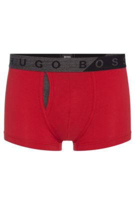 'Trunk Comfort' | Stretch Cotton Modal Trunks, Red